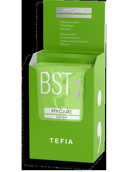 """TEFIA - Процедура интенсивного ухода за волосами """"ОБЪЕМ"""" (Концентат+Бустер), 5x(10мл+20мл)"""