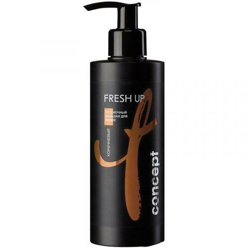 Concept - Оттеночный бальзам Fresh Up для КОРИЧНЕВЫХ оттенков волос, 300мл