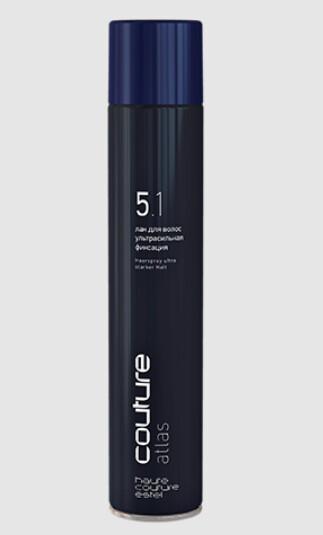 Лак для волос ATLAS ультрасильная фиксация ESTEL HAUTE COUTURE, 400мл