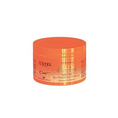 Маска «Восстановление и защита» с UV-фильтром для всех типов волос ESTEL CUREX SUN FLOWER, 500мл