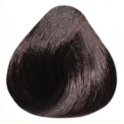 Краска для волос ESTEL De Luxe Silver 4/75 Шатен коричнево-красный, 60мл