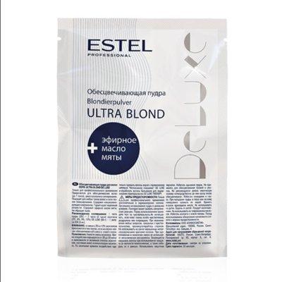 Обесцвечивающая пудра для волос ESTEL DE LUXE ULTRA BLOND 30гр