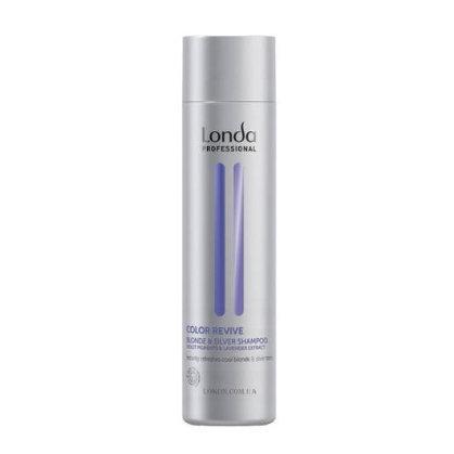 Шампунь Londa Professional Color Revive Blonde & Silver для светлых оттенков волос, 250 мл