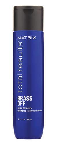 Matrix - Шампунь Color Obsessed Brass Off для волос оттенка Холодный блонд, 300мл