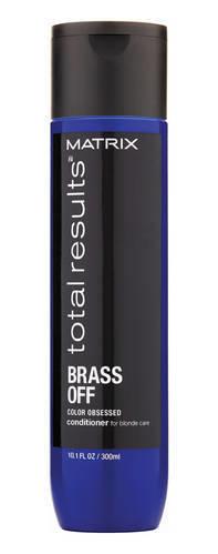 Matrix - Кондиционер Color Obsessed Brass Off для глубокого питания волос оттенка Холодный блонд, 300мл