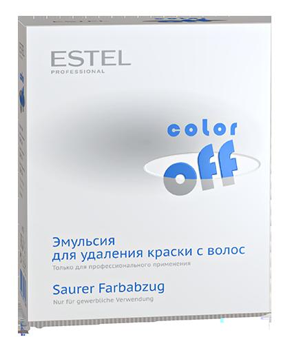 Эмульсия для удаления стойких красок с волос ESTEL COLOR OFF, 3*120мл