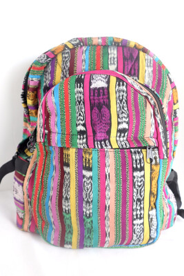 Mochila Tipica - Traditional Guatemalan Backpack - No. 632