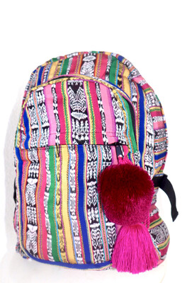 Mochila Tipica - Traditional Guatemalan Backpack - No. 629