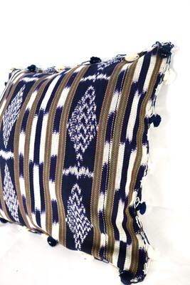 Woven Ikat Cushion Cover