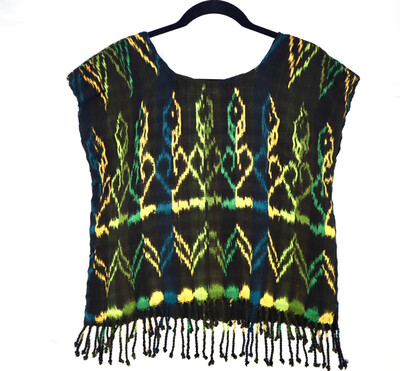 Hand Woven Blouse | San Juan La Laguna - (MEDIUM)