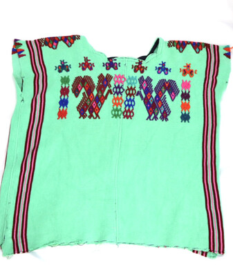 Vintage ​Huipil | Hand Woven Blouse |  - Chajul (Small/Medium)