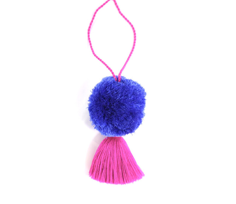 Pom Pom Ball Tassel - XL  (No. 251)