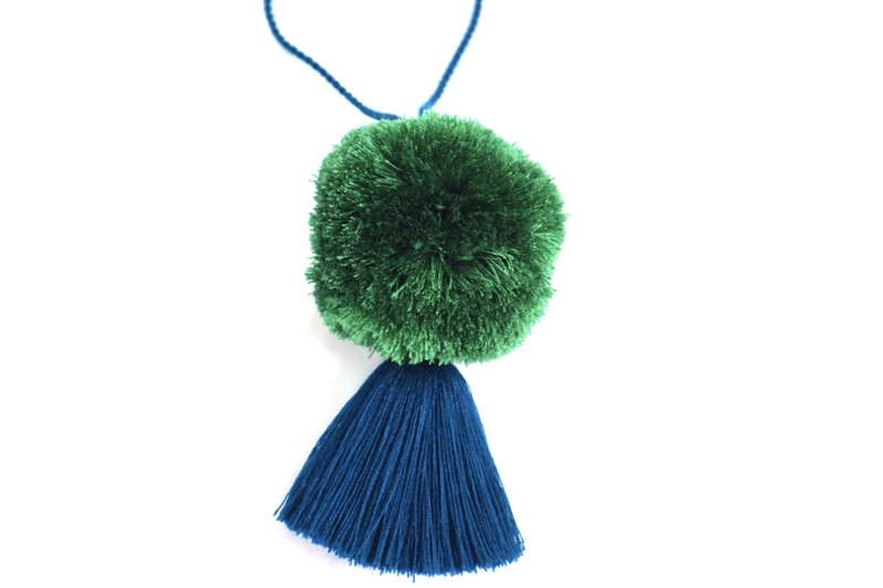 Pom Pom Ball Tassel - XL (No. 253)