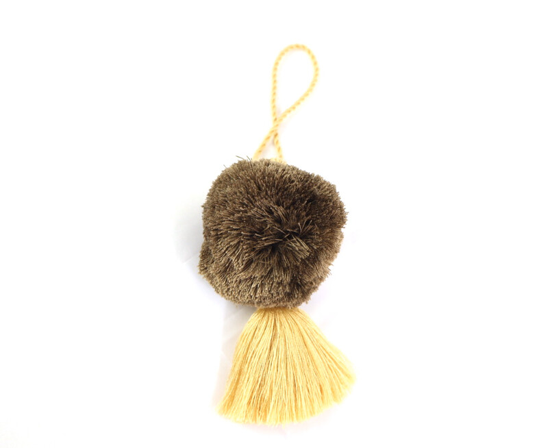 Pom Pom Ball Tassel - XL (No. 255)