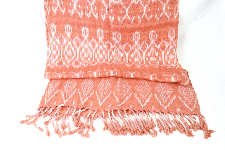 Handwoven Ikat Shawl- Rebozo