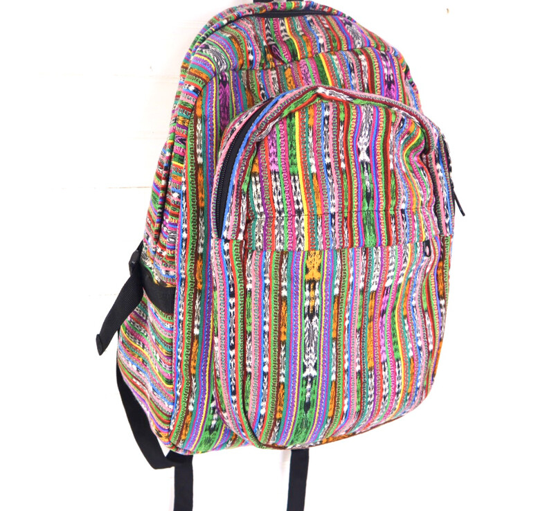 Mochila Tipica - Traditional Guatemalan Backpack - No. 631