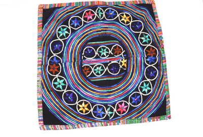 Hand Woven Huipil Cushion Cover -