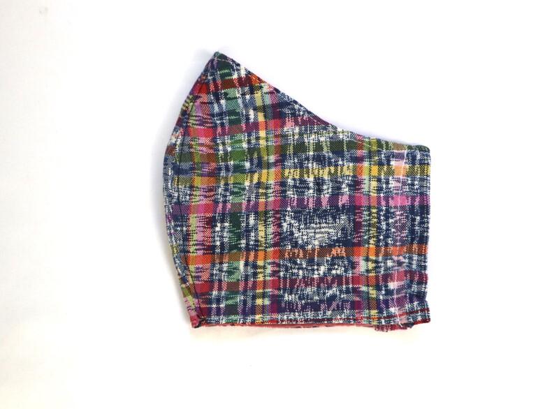 Reusable Fabric Mask  - Corte Multi-color (LARGE)