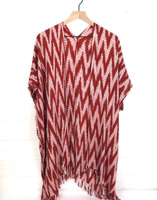 Natural Dye Ikat Kimono | San Juan La Laguna