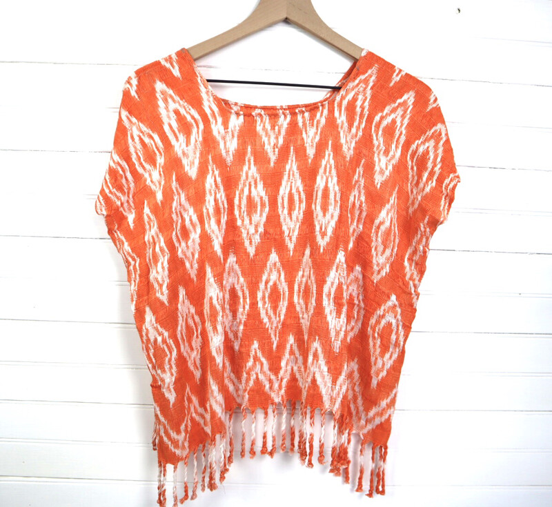 Hand Woven Blouse | San Juan La Laguna (MEDIUM/LARGE)