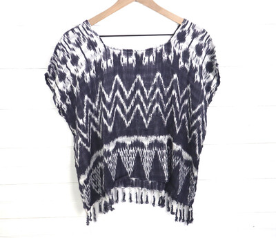 Hand Woven Blouse | San Juan La Laguna (MEDIUM)