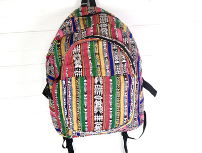 Mochila Tipica - Traditional Guatemalan Backpack - No. 630