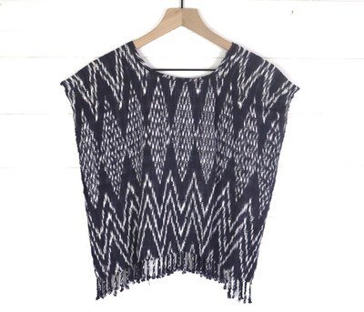 Hand Woven Blouse | San Juan La Laguna (SMALL/MEDIUM)