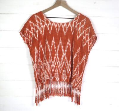 Hand Woven Blouse | San Juan La Laguna (MEDIUM/SHORT)