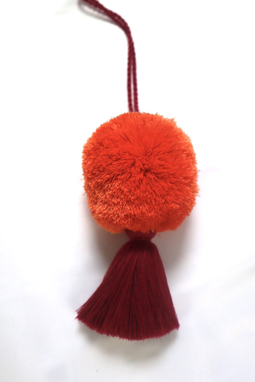 Pom Pom Ball Tassel - XL  (No. 256)