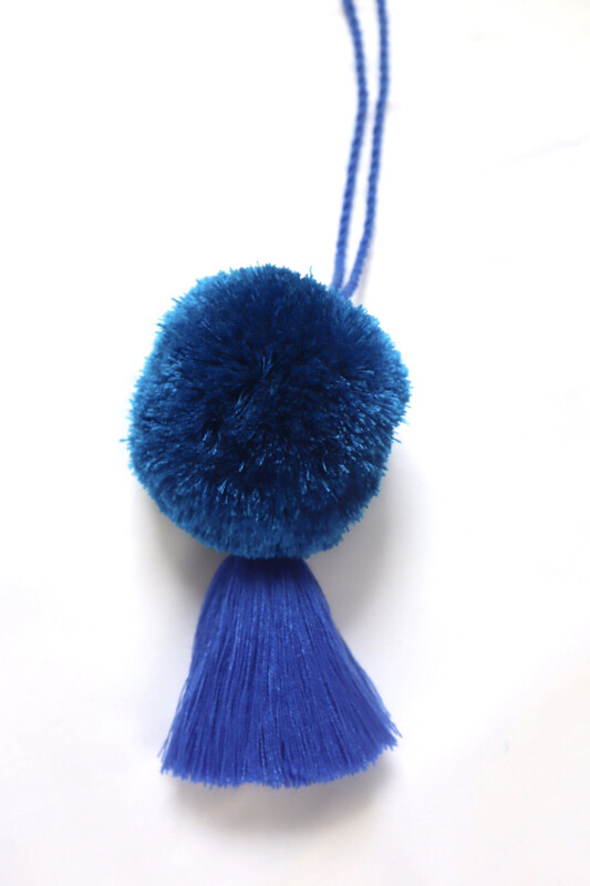 Pom Pom Ball Tassel - XL  (No. 257)