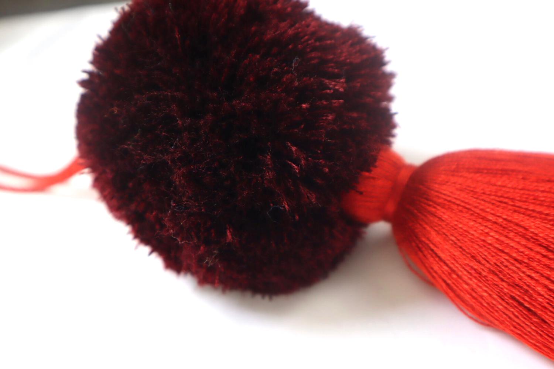 Pom Pom Ball Tassel - XL  (No. 258)
