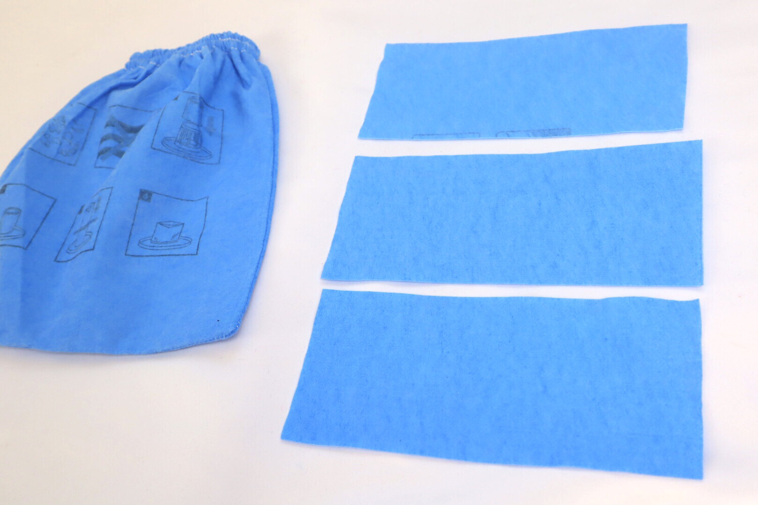 Set of 3 Reusable & Washable Mask Filters - Vacmaster Cloth Filter