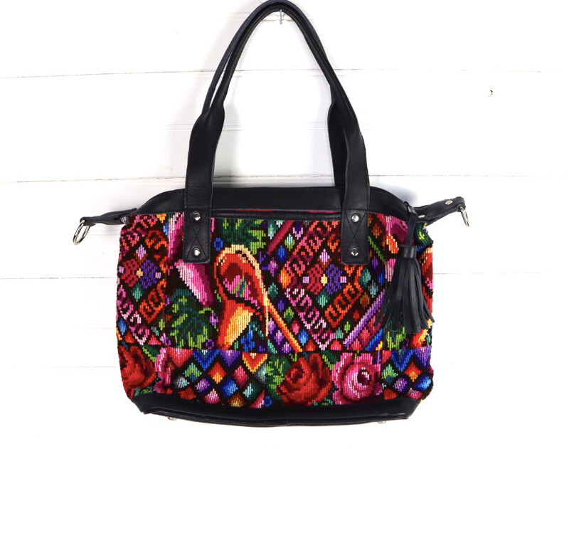 Artisan Huipil Medium Crossover Bag
