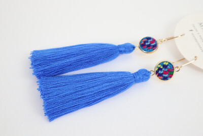 HUIPILITOS with Tassels - Brass