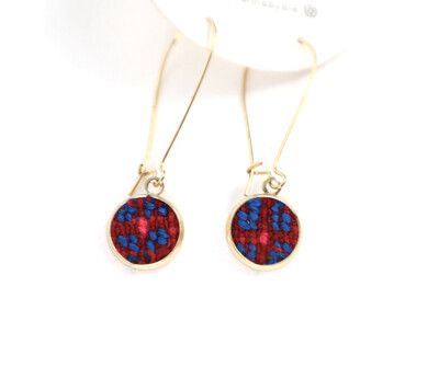 Huipilito Brass Earrings