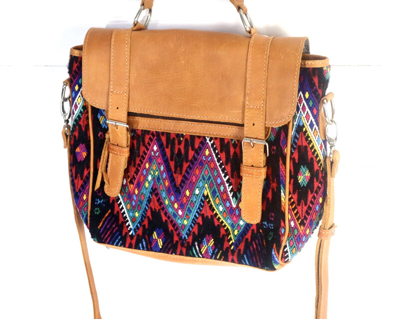 Artisan Mayan Messenger Bag - No. 11