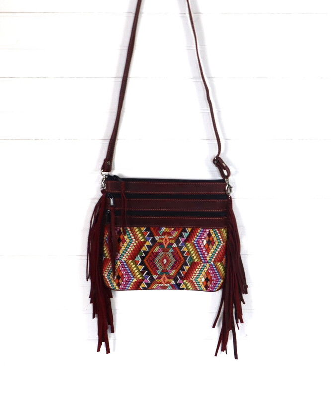 Mayan Fringe Cross Body Bag - No. 2
