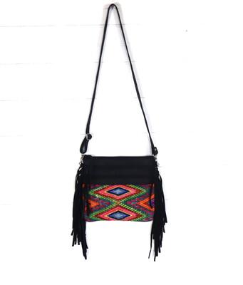 Mayan Fringe Cross Body Bag - No. 3