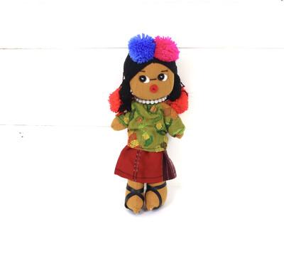 Guatemalan Doll - Ishta Chula - No. 10