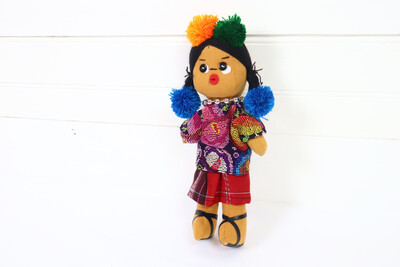 Guatemalan Doll - Ishta Chula - No. 12