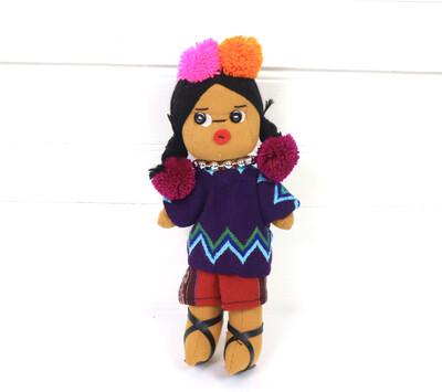 Guatemalan Doll - Ishta Chula - No. 9