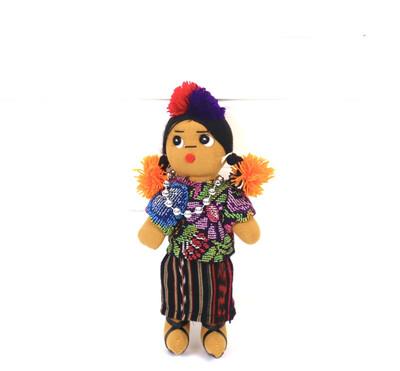 Guatemalan Doll - Ishta Chula - No. 6