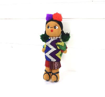 Guatemalan Doll - Ishta Chula - No. 8