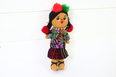 Guatemalan Doll - Ishta Chula - No. 15