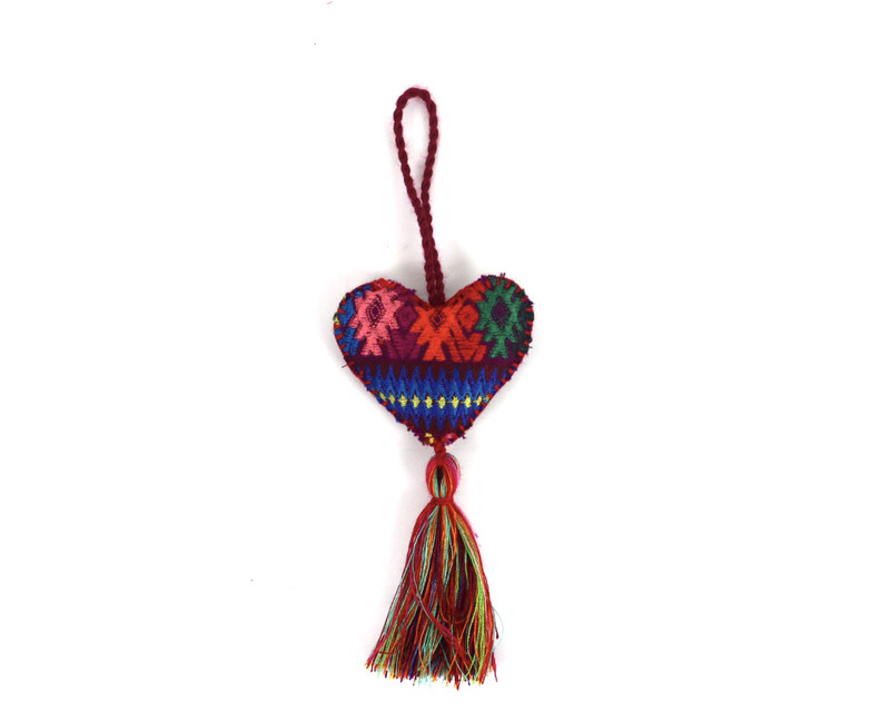 Corazon Huipil Ornament - No. 3