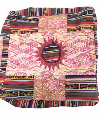 Vintage Guatemalan Pouf - No. 140