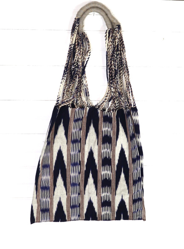 Handwoven Market Bag - No. 3