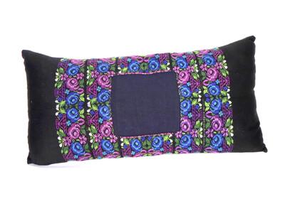 Huipil Textile Pillow