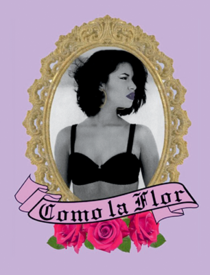 COMO LA FLOR Selena Inspired Waterproof Sticker
