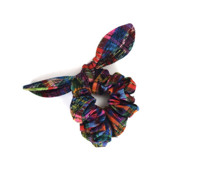 Guatemalan Scrunchies With Bow